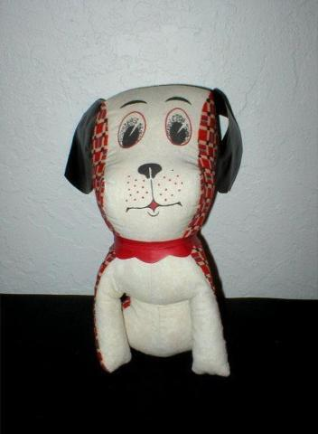 Vintage Toy - Dog with Vinyl Ears - 1960's-70's - (10