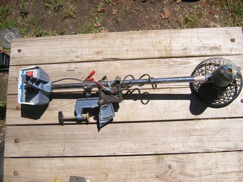 Vintage travel troler 12v trolling motor by eska corp for for 12v motors for sale