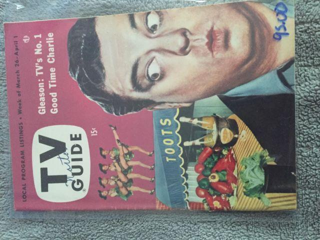 Vintage TV Guide Collection 50s 60s 70s