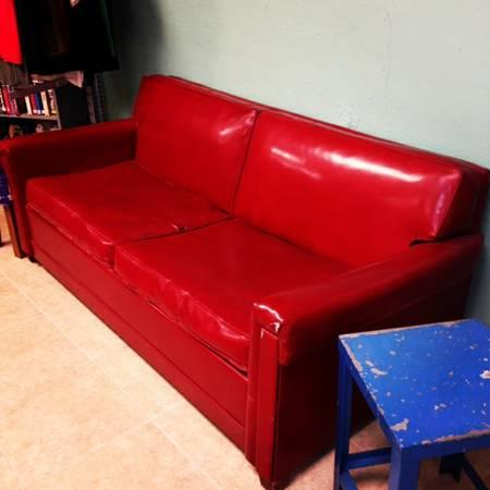 Vintage Vinyl Sofa Sleepers For Sale In San Antonio Texas