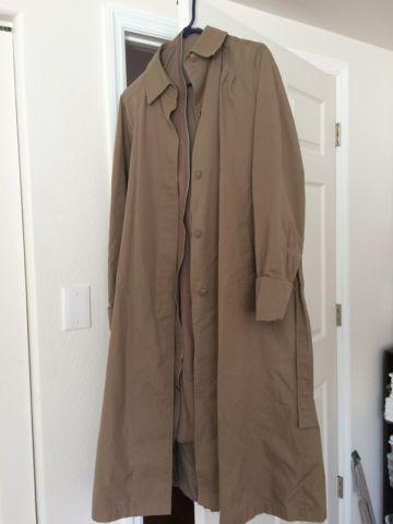 Vintage Windsor Bay Trench Coat by JC Penny
