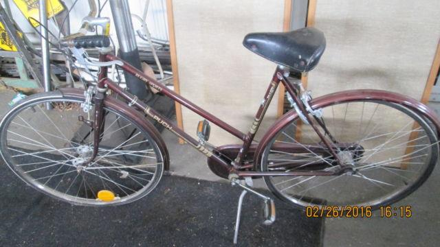 Vintage Women 1970s Puch Rugby Sport Bicycle Made in