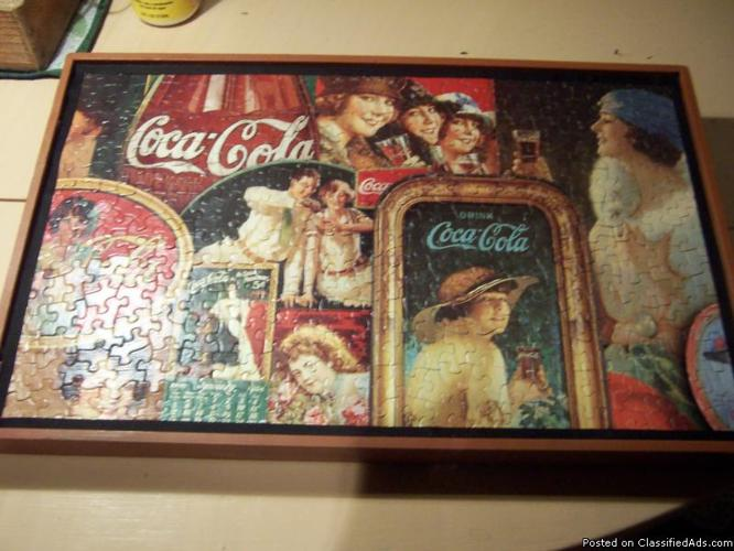 Vintage Wooden Bed Tray Coca Cola