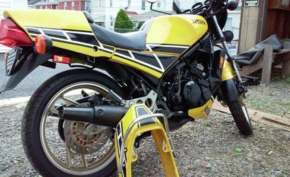 Vintage, -1984- Yamaha Kenny Roberts-RZ350