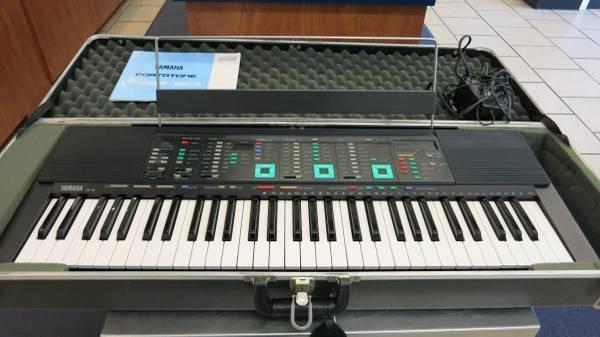 Vintage yamaha psr 90 portatone 61 key electronic keyboard for Yamaha portatone keyboard