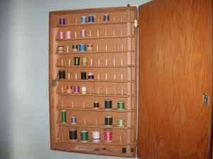 Sewing Thread Storage Wall Cabinets http://spokane-wa.americanlisted.com/art-antiques/vintage-sewing-thread-wall-cabinet-40-spokane_19118811.html