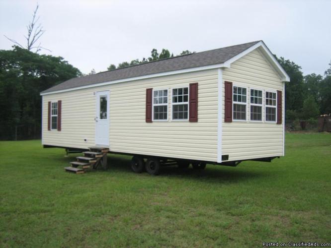 Vinyl Cozy Cottage On Wheels For Sale In Ochlocknee
