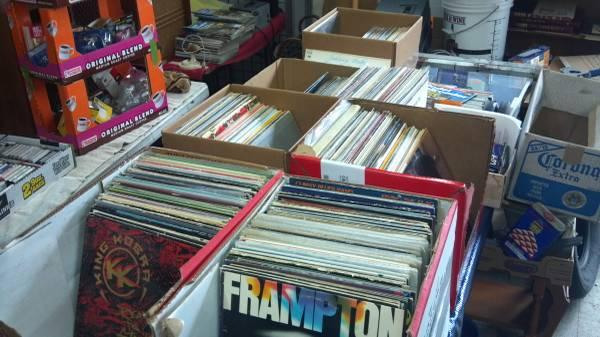 Vinyl LP's - close to 350 60's - 80's Less than 50