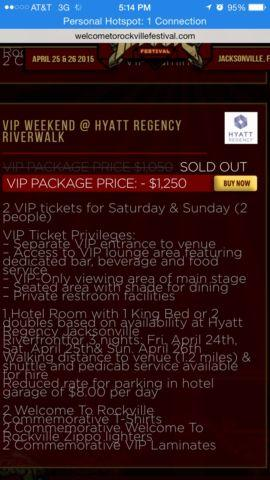 VIP Rockville Weekend @ Hyatt Regency Riverwalk