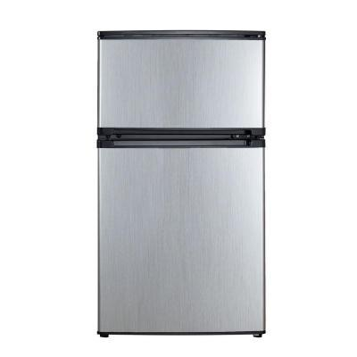vissani 3 1 cu ft mini refrigerator in stainless look energy star for sale in lubbock texas. Black Bedroom Furniture Sets. Home Design Ideas