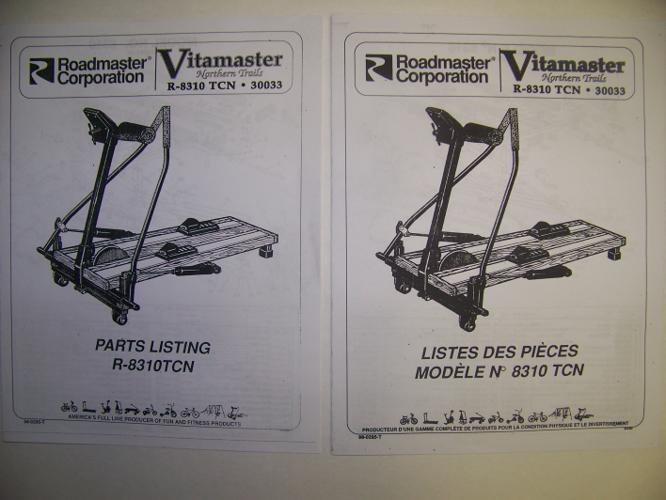 Vitamaster Northern Trails Ski Machine Manual For Sale In