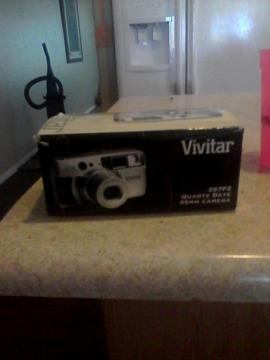Vivitar series 1 power zoom lens camera
