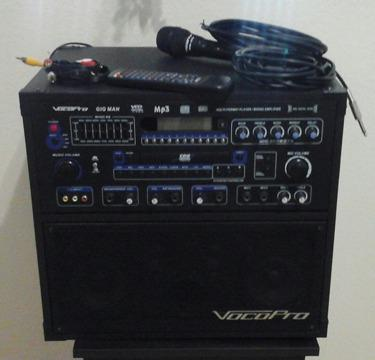 vocopro Amplifier, cd player, karaoke