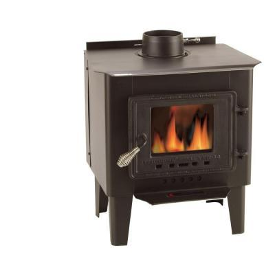 Vogelzang Frontiersman 1000 sq. ft. Wood-Burning Stove with Blower
