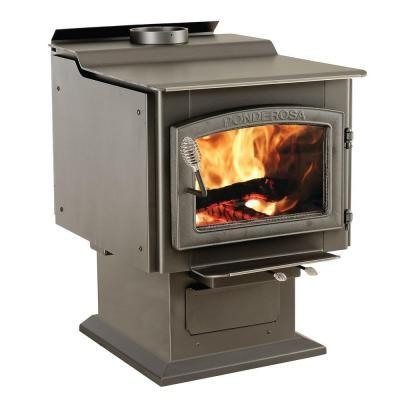 Vogelzang Ponderosa 3000 sq. ft. Wood-Burning Stove with Blower