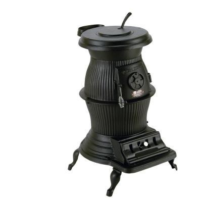Vogelzang Railroad 1500 sq. ft. Coal  Wood-Burning Pot Belly Stove