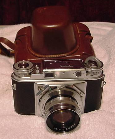 Voigtlander Prominent I Rangefinder Camera - $475