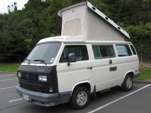 Volkswagen Westfalia 1988 Vanagon Camper For Sale In Camas