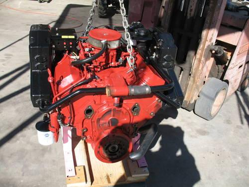 Volvo Penta 7 4 Bbc 4bolt Main Marine Engine Long Block