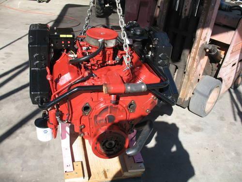 Volvo Penta 7 4 BBC 4bolt main Marine engine LONG BLOCK