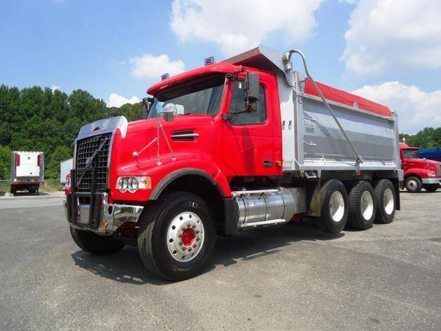 Volvo Vhd64f200 Tri Axle Dump Truck For Sale For Sale In