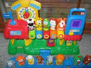vtech train station playset instructions