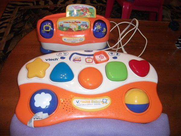 Vtech Vsmile Baby Video game, learning system, ages 2 and ...