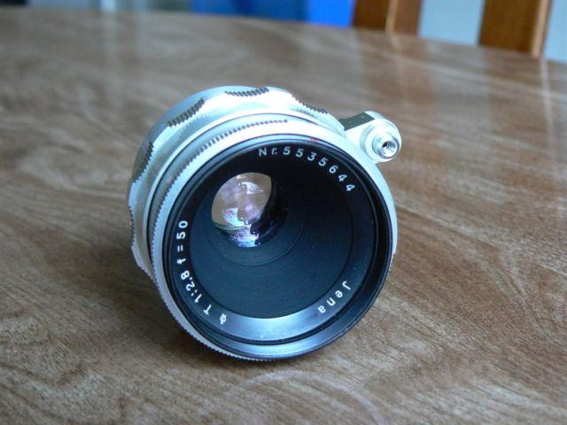 Vtg. Carl Zeiss Jena T* 50mm f/2.8 Lens for Exakta