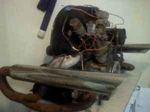 VW 1600 dual port Motor -Trans - $800 (Three Rivers)