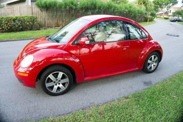 VW Beetle TDI 1 Owner 45-50 MPG South Florida Car Low Miles - for