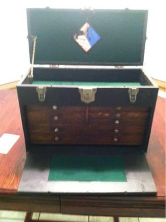 W.H Getstner 7 drawer machinist box 1908 - $200