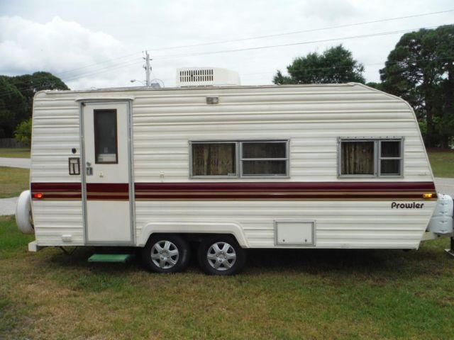 w w perfect starter rv 1985 prowler 20 39 tandem pull w 6cyl suv for sale in port charlotte. Black Bedroom Furniture Sets. Home Design Ideas