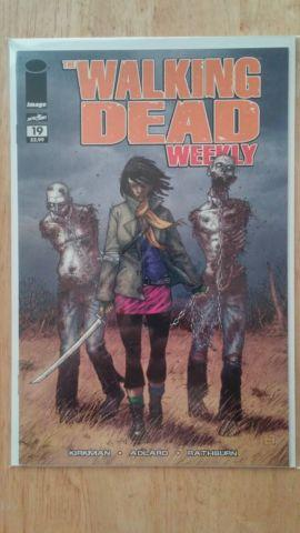 Walking Dead comic books