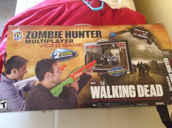 Tv Games Plug Into : Walking dead plug and play tv shooting game for sale in
