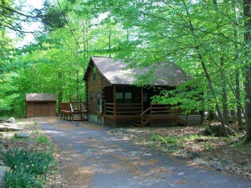 Wallenpaupack Lake Estates Log Cabin For Sale In Lake