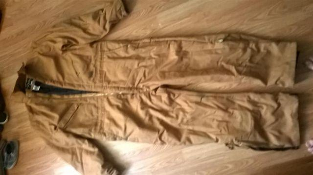 WALLS brown insulated coveralls BRAND NEW