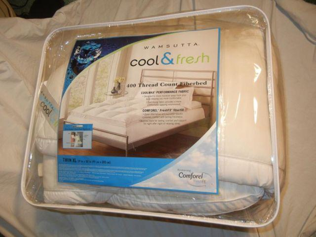 Wamsutta Mattress Topper Pad 39 Quot X80 Quot Cool Amp Fresh Fiberbed