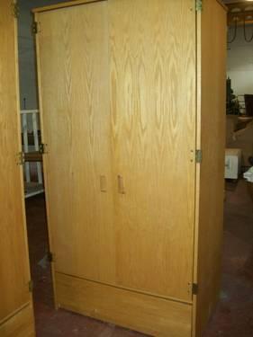 Wardrobe Armoire, Closet, Storage, Utility $95 each