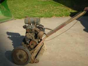 wards lakeside antique lawn mower - $80 (Ashland Wisc.)