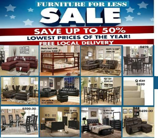 WAREHOUSE SALE LOW PRICE QUALITY FURNITURE