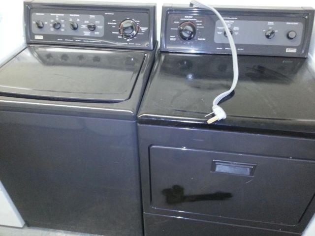 Washer And Electric Dryer Black Kenmore Elite 6 Months