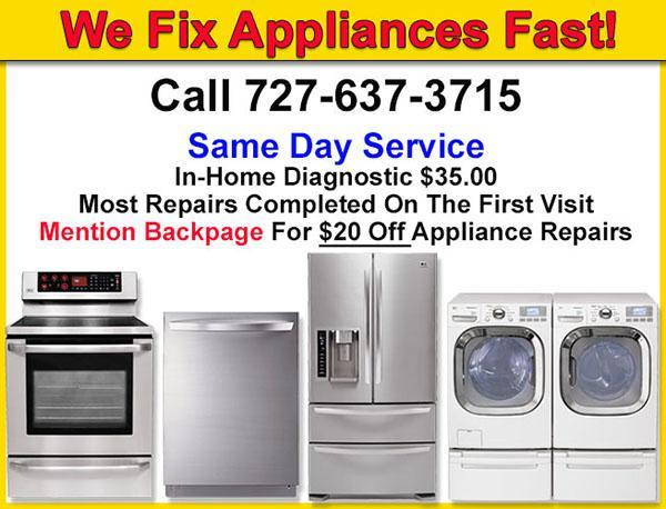 Washer Machine Repairman In Clearwater For Sale In Saint