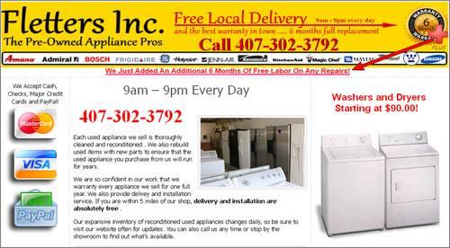 Washers Amp Dryers Starting At For Sale In Sanford Florida