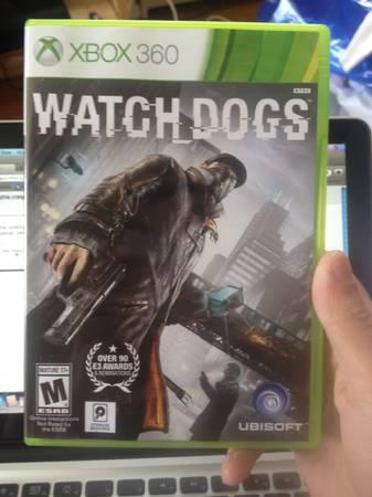WATCH DOGS XBOX 360 - $40
