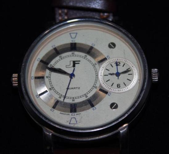 Watch JF Quartz Brown Lightly Worn Central Florida Areas for