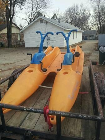 Water Bike - Barracuda - double wide - $350
