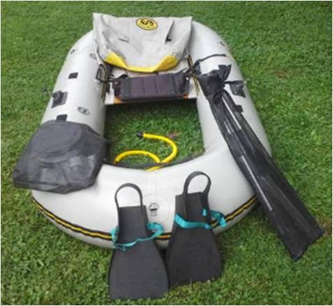 Water Master Grizzly Raft Package - $550
