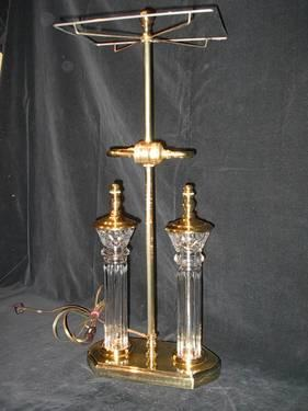 Waterford Crystal Parkmore Library Lamp With Shade For Sale In Marigold California Classified