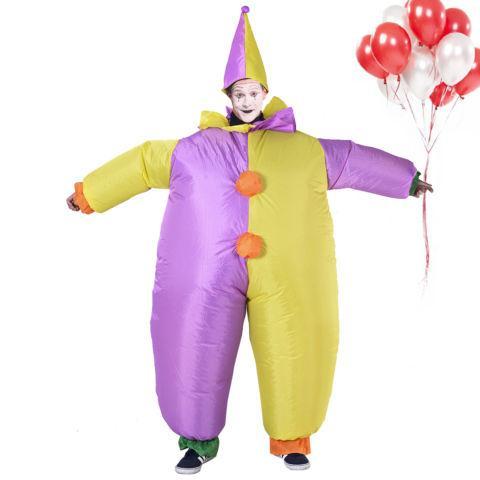 Waterproof Inflatable Motor Dress Horse Clown Unisex Costumes