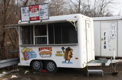 Wayomatic Food Concession Trailer Vending Stand Mobile Business